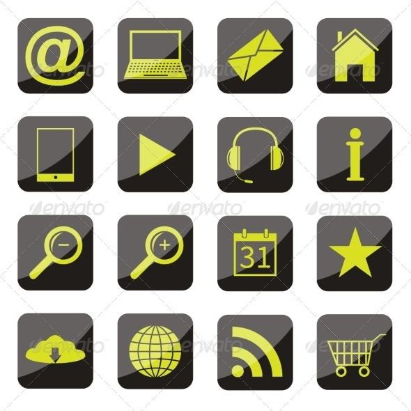 GraphicRiver Apps Icon Set 7840494