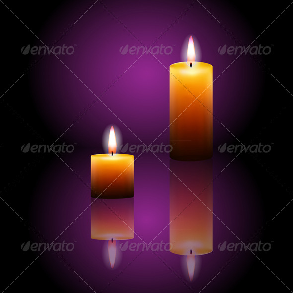 GraphicRiver Isolated Realistic Candles 7840662
