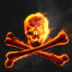 Burning Skull - VideoHive Item for Sale