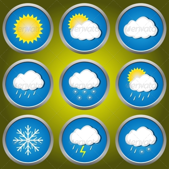 GraphicRiver Weather Icons 7840778