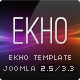 EKHO Responsive Unique Joomla Template - ThemeForest Item for Sale