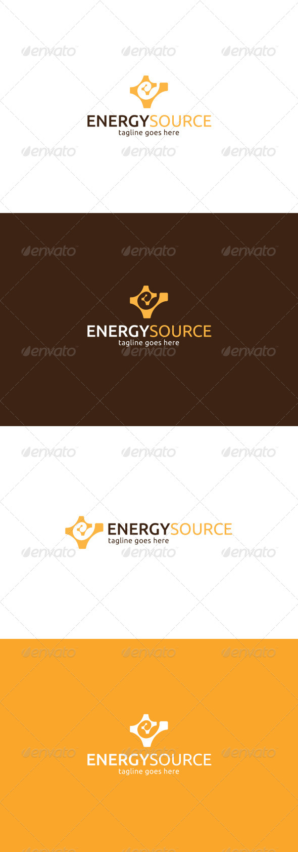 GraphicRiver Energy Source Logo Letter E 7841604