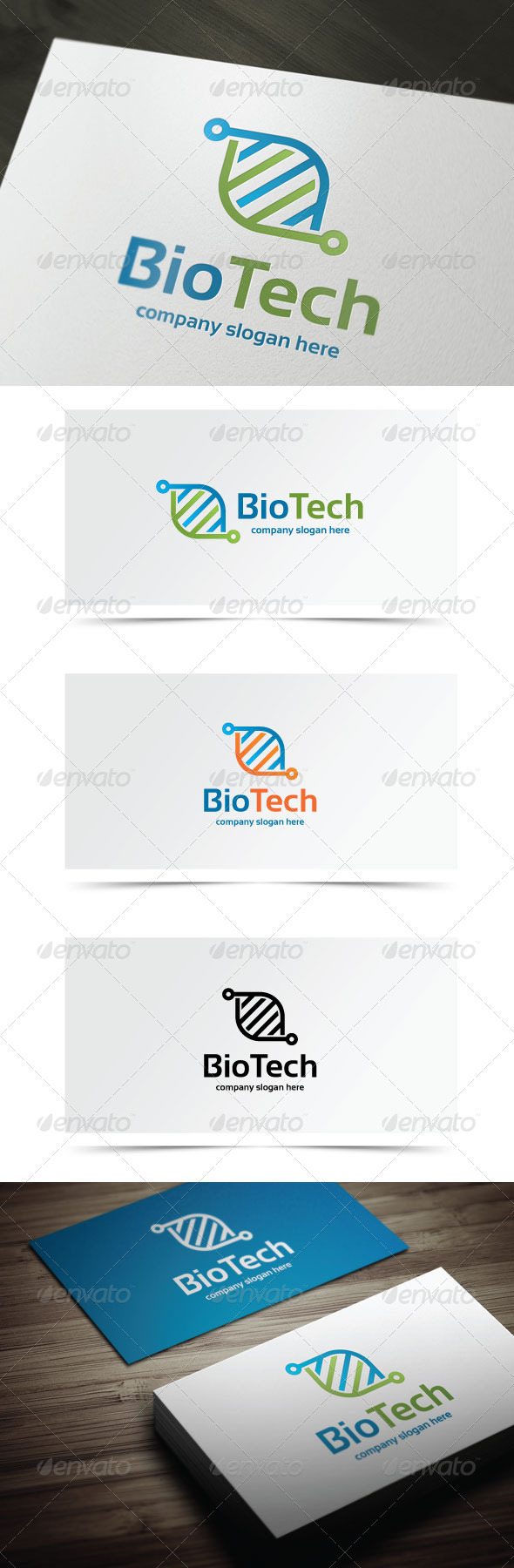 GraphicRiver Bio Tech 7841776