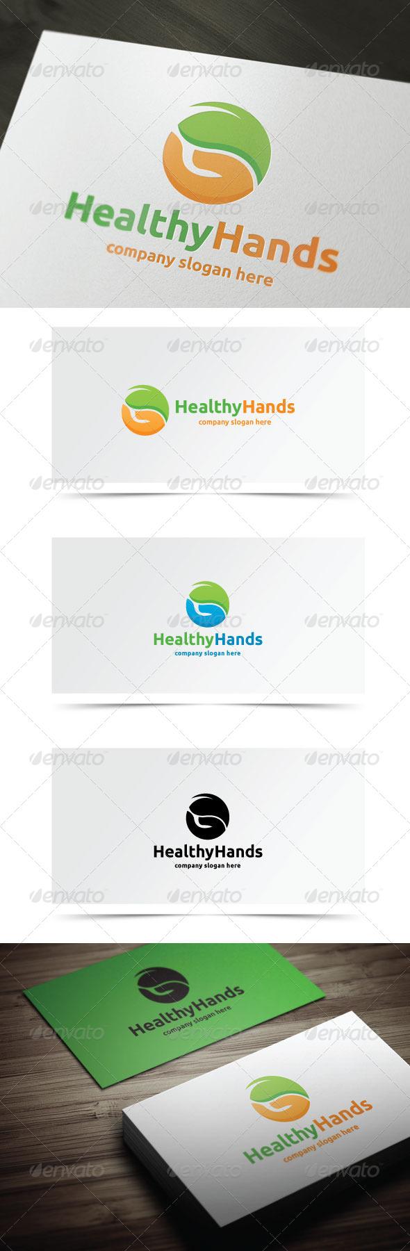 GraphicRiver Healthy Hands 7841887