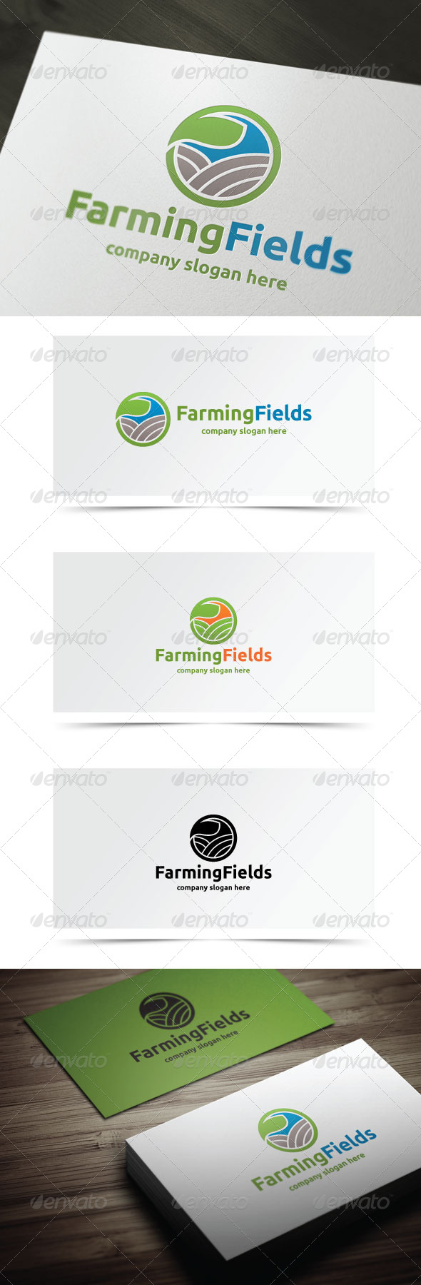GraphicRiver Farming Fields 7841913