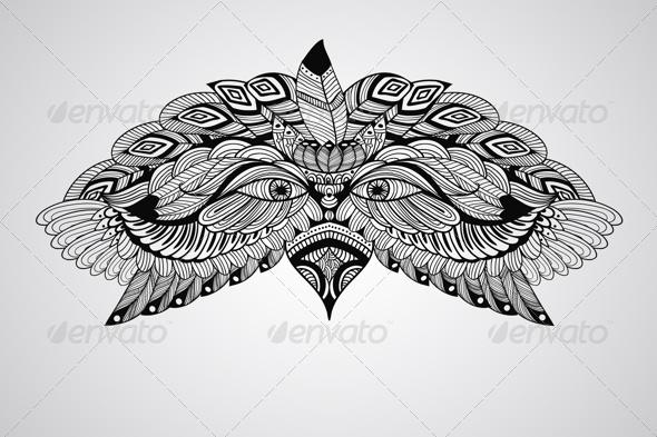 GraphicRiver Eagle Head 7842324
