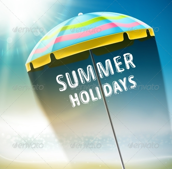 GraphicRiver Summer Holidays 7842430