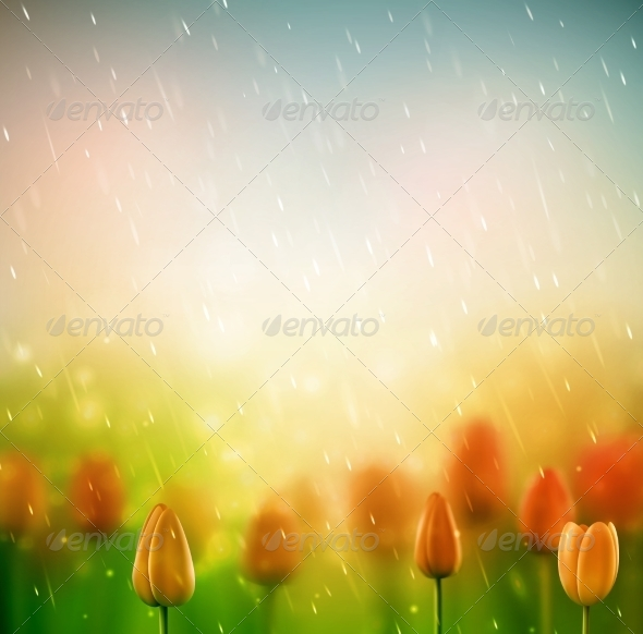 GraphicRiver Summer Rain 7842439