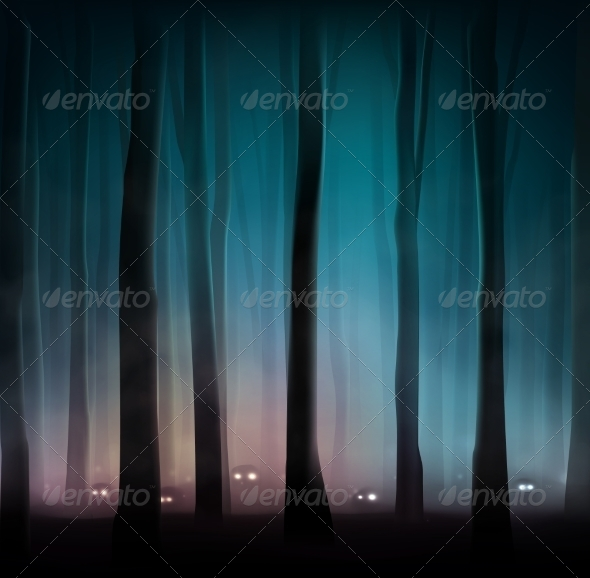 GraphicRiver Monsters in Forest 7842458