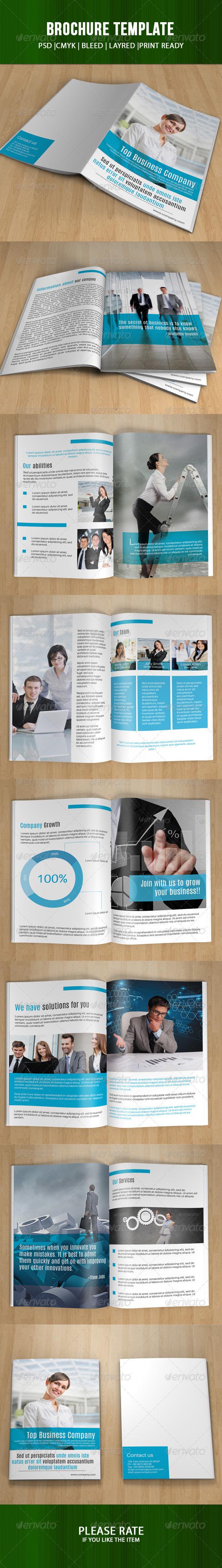 GraphicRiver Multi Business Brochure-V19 7842619
