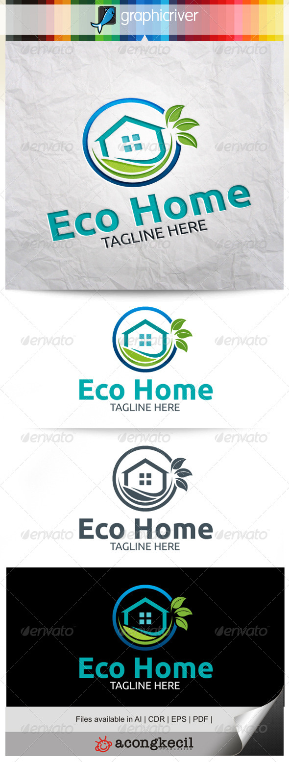 GraphicRiver Eco Home 7842620