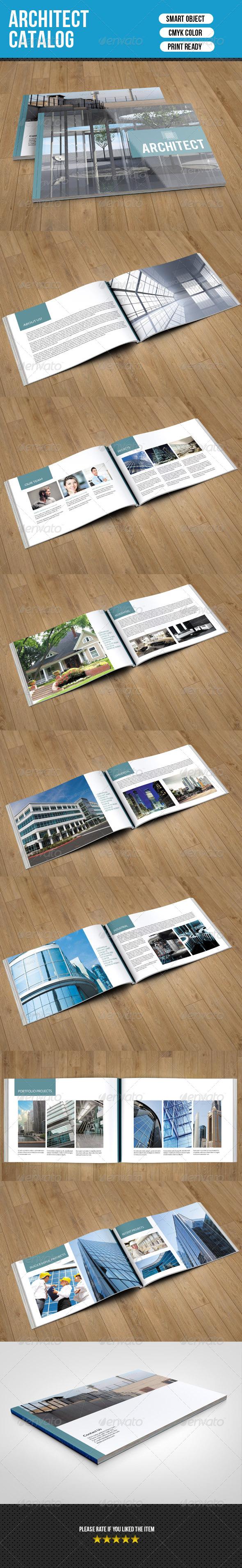 GraphicRiver Architect Catalog Template-V05 7842646