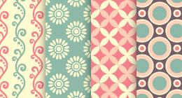 Sets seamless patterns