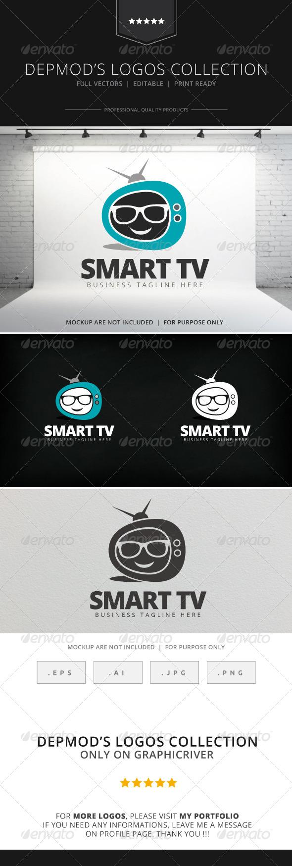 GraphicRiver Smart TV Logo 7842672