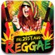 Reggae Friday's Flyer Template - GraphicRiver Item for Sale