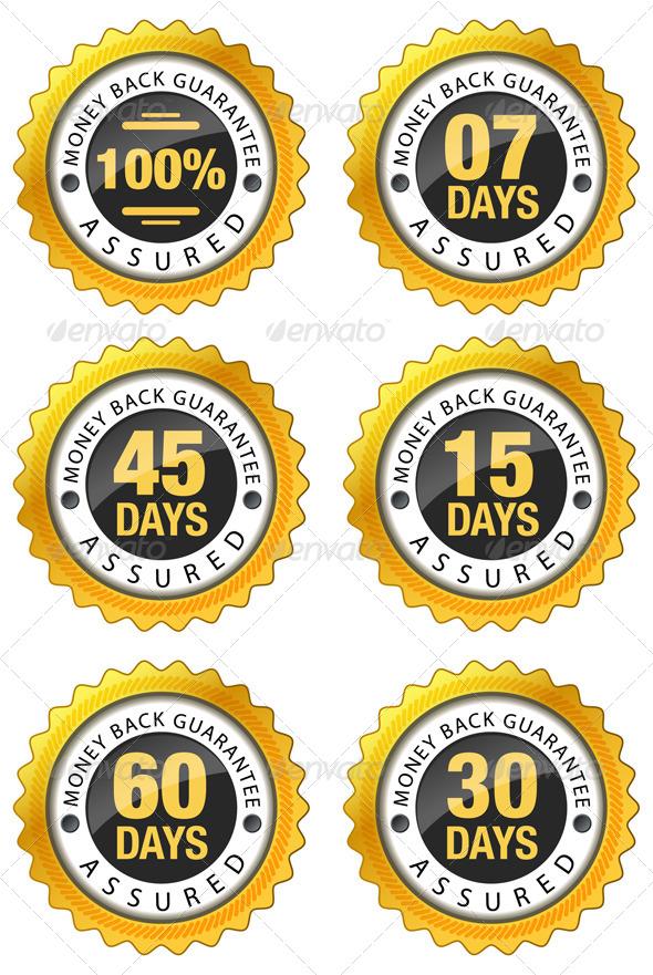 GraphicRiver Money Back Guarantee Illustrations 7843217