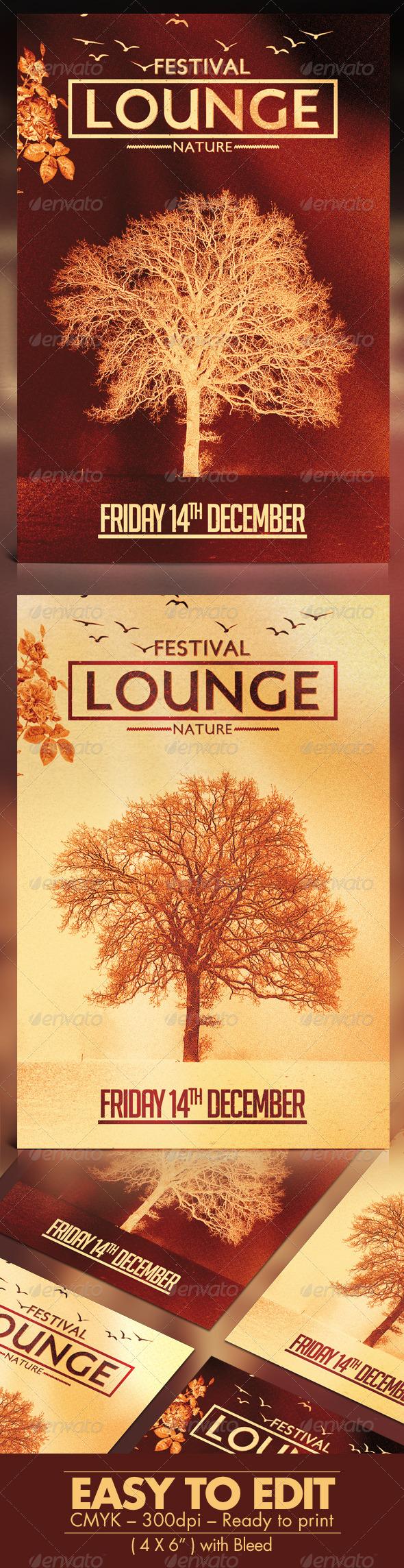 Festival Lounge Flyer