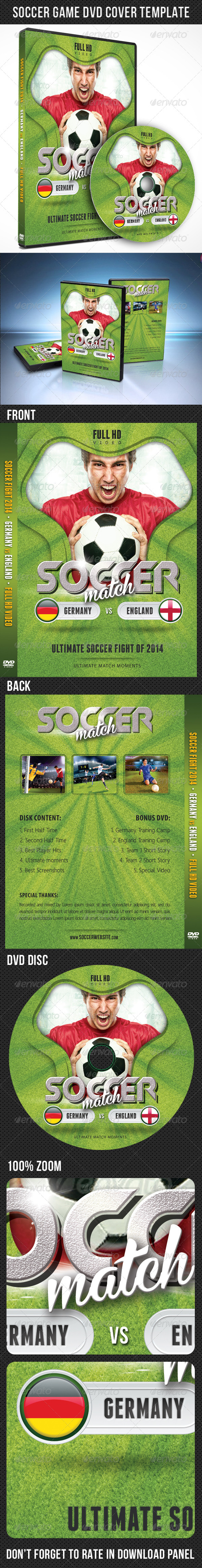 GraphicRiver Soccer Match 2014 DVD Cover Template 02 7843714