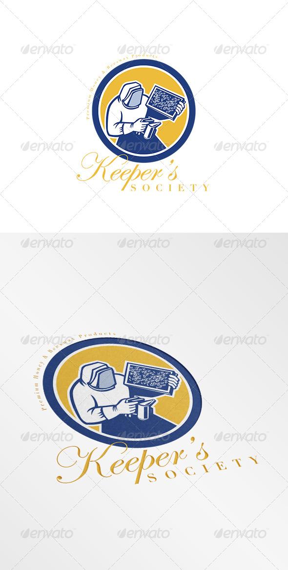 GraphicRiver Keeper s Society Premium Honey Logo 7843784