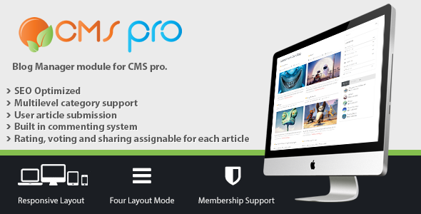 Download Blog Manager Module for CMS pro nulled download