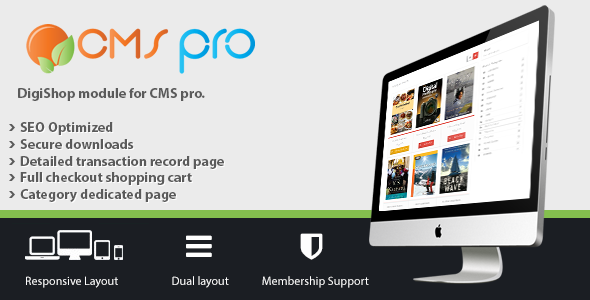 DigiShop Module for CMS pro - CodeCanyon Item for Sale