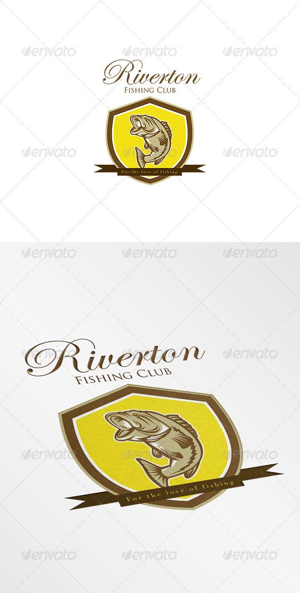 GraphicRiver Riverton Fishing Club Logo 7843967