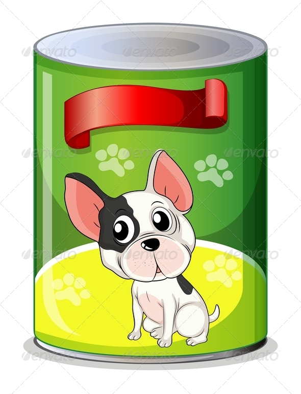 GraphicRiver Can with a Puppy 7844144