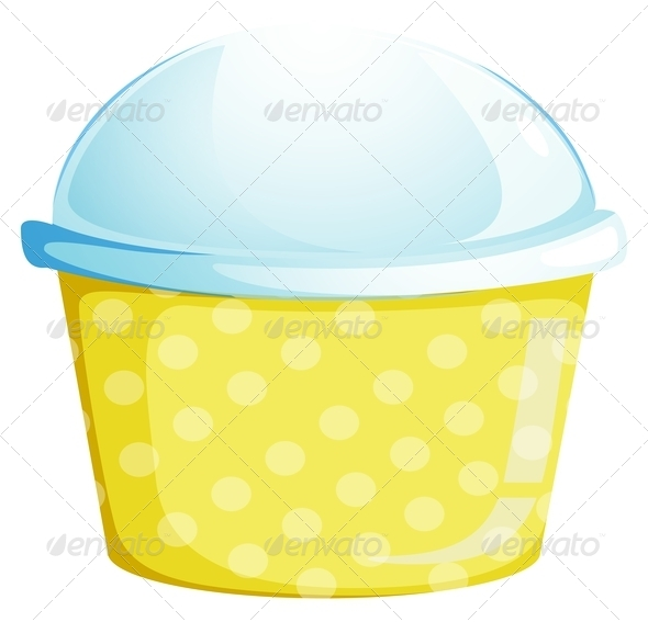 GraphicRiver A cup with a lid 7844176