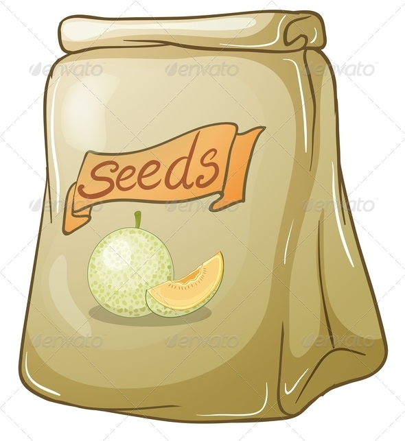 GraphicRiver A pack of melon seeds 7844244