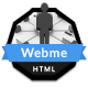 Webme Clean Resume - HTML - ThemeForest Item for Sale