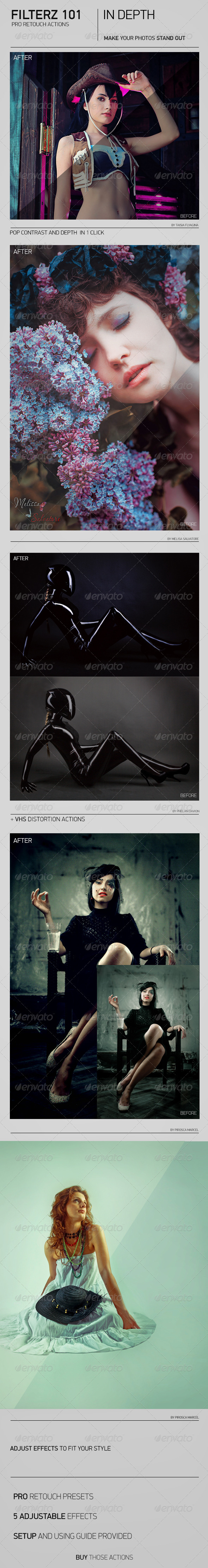 GraphicRiver FILTERZ 101 IN DEPTH 7795494