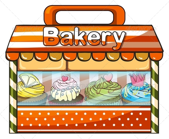 GraphicRiver Baked goods 7844581