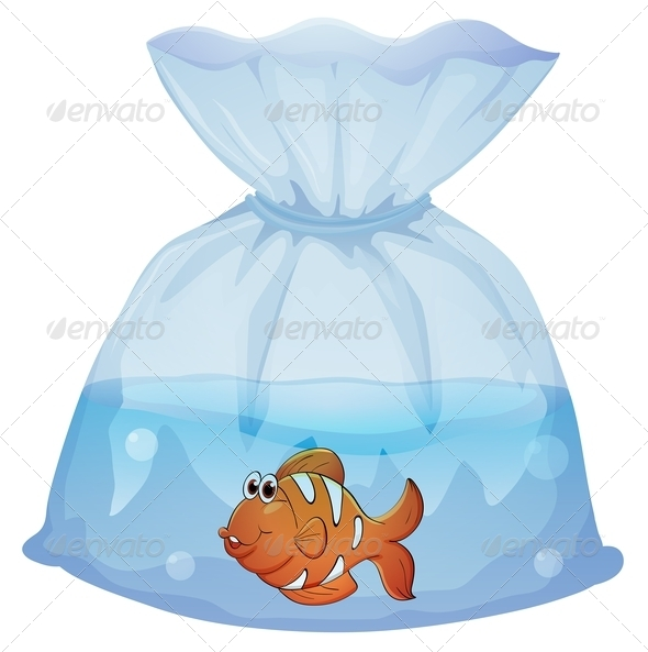 GraphicRiver Fish in a Plastic Bag 7844865