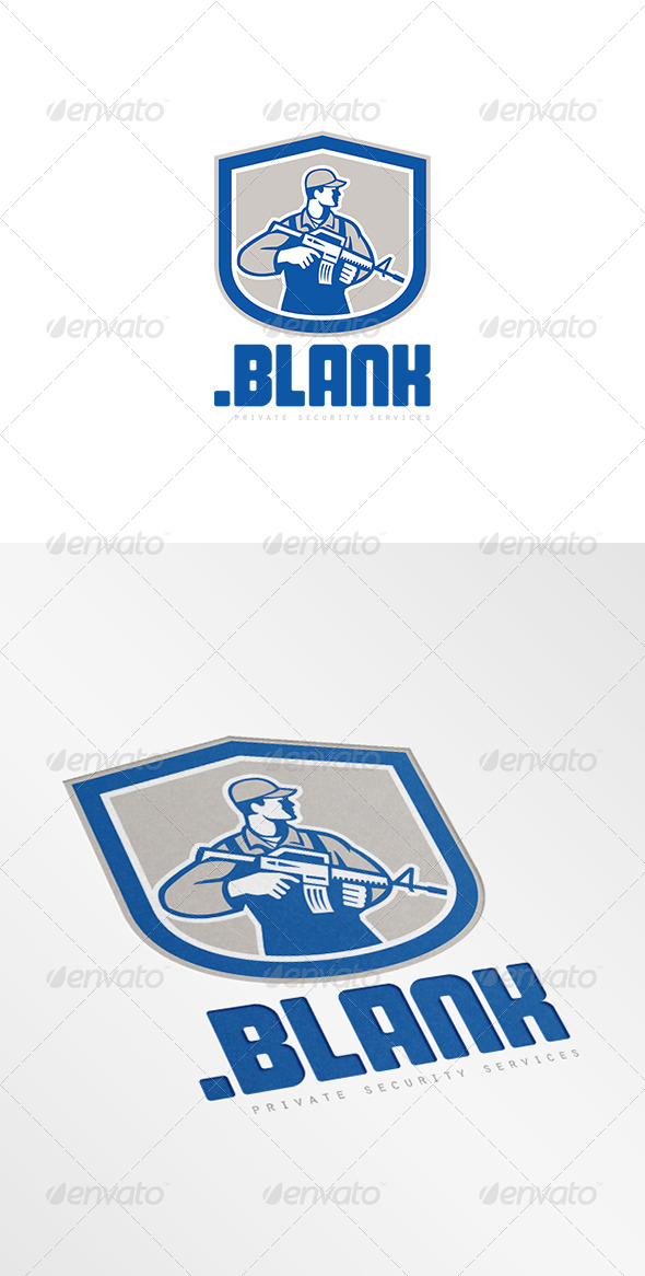 GraphicRiver Point Blank Private Security Logo 7844906