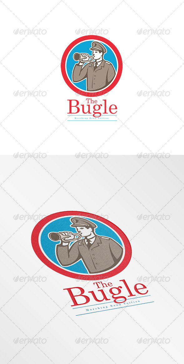 GraphicRiver Bugle Marching Band Logo 7844912
