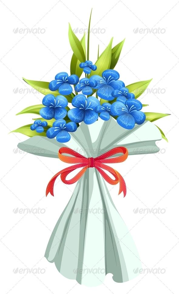 GraphicRiver A boquet of flowers 7844969