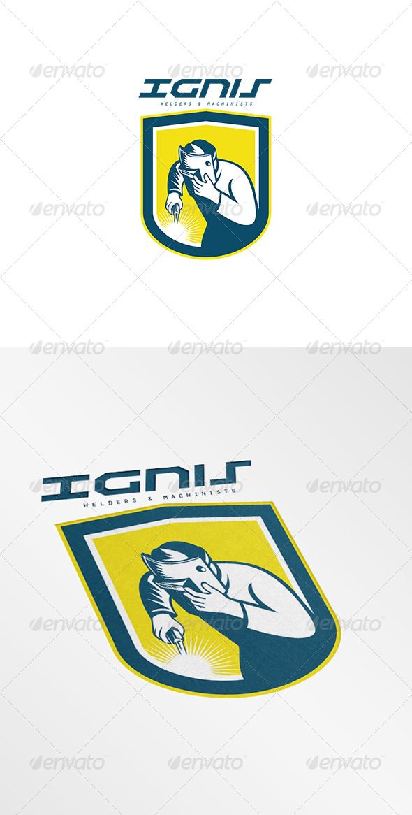 GraphicRiver Ignis Welders Logo 7845025