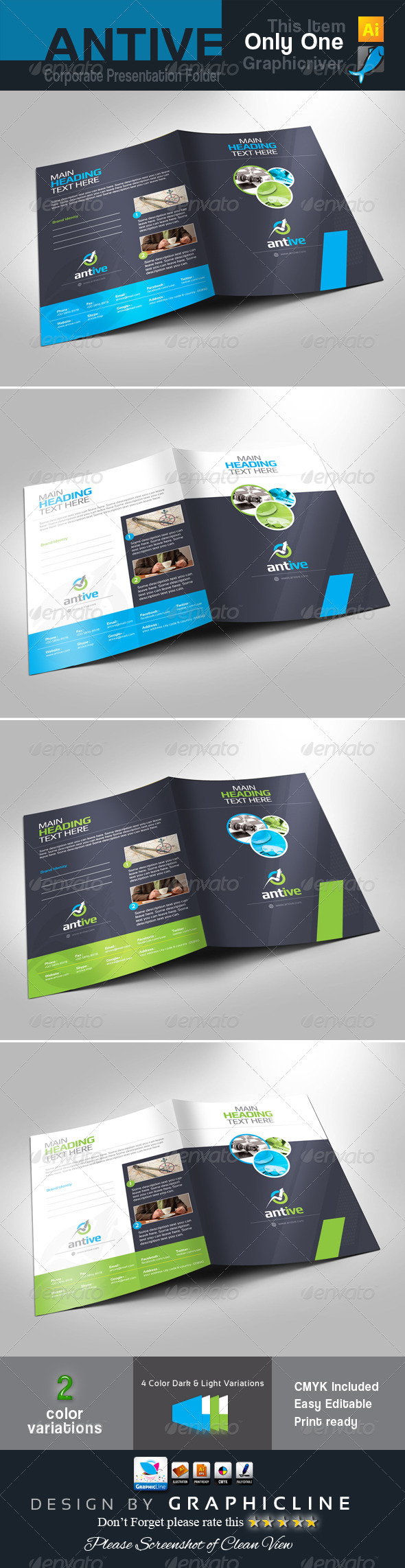 GraphicRiver Corporate Presentation Folder 7845328