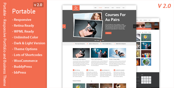 Portable - Responsive Portfolio and Business Theme