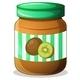Kiwi Jam Jar - GraphicRiver Item for Sale