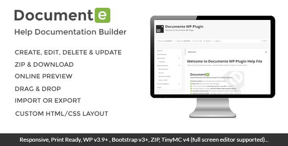 Documente - Help Documentation Builder - CodeCanyon Item for Sale