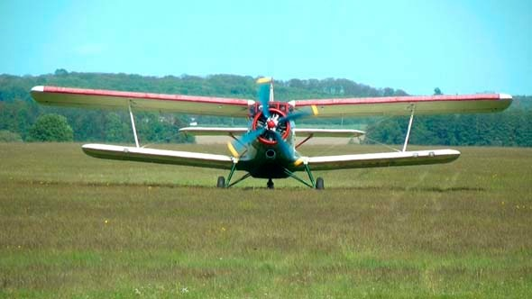 Plane On Start 5