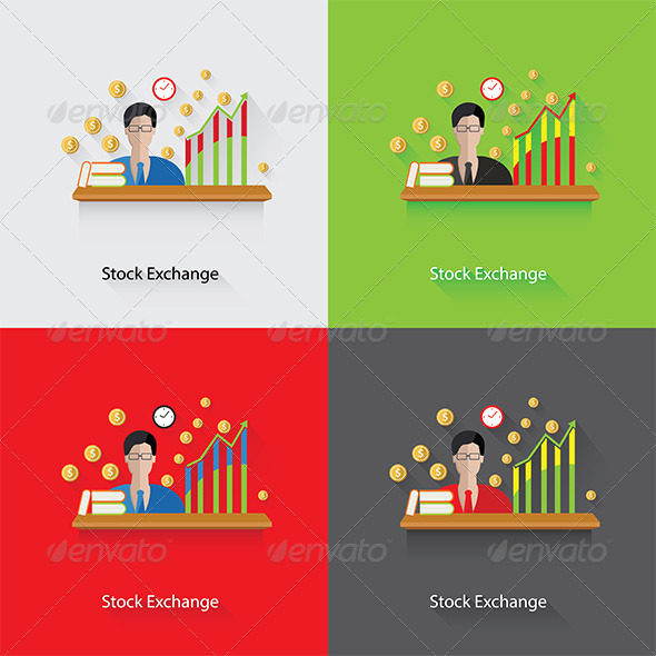 GraphicRiver Stock Exchange Concept 7845820