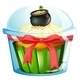 A cupcake with a pot of coins - GraphicRiver Item for Sale