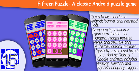 CodeCanyon 15 puzzle 7820883
