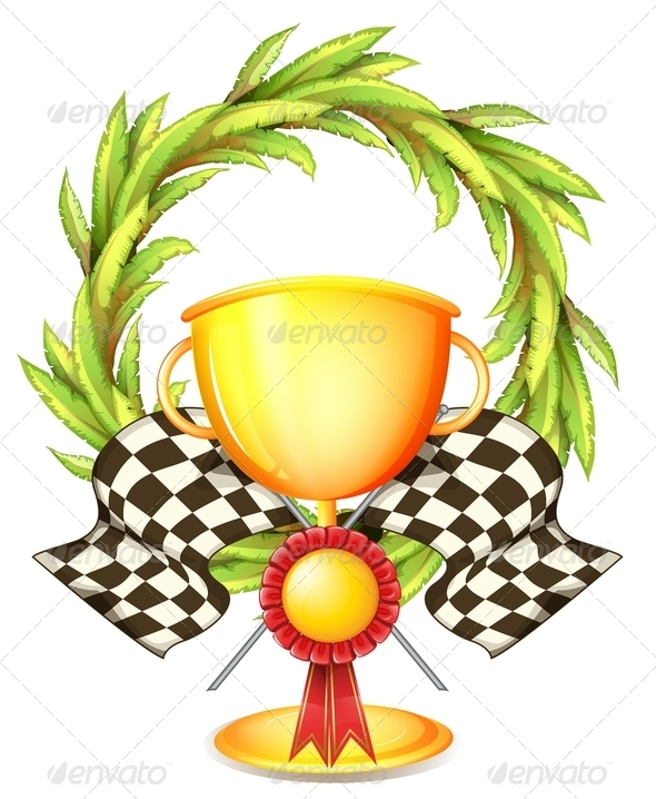 Trophy with Wreath