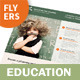 Education Flyers - 2 Options - GraphicRiver Item for Sale