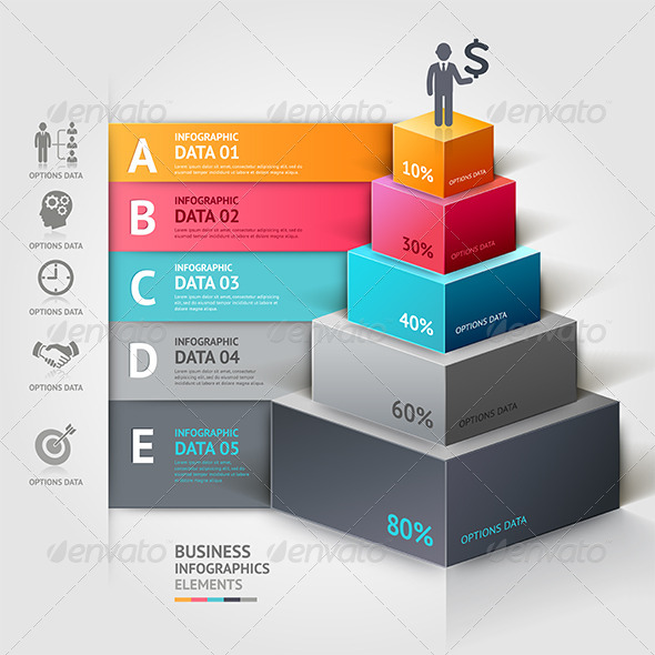 GraphicRiver Business Infographic Template 7548634