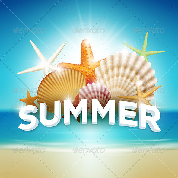 GraphicRiver Summer Beach 7846640