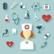 Flat Design Modern Illustration of Medical Icons - GraphicRiver Item for Sale